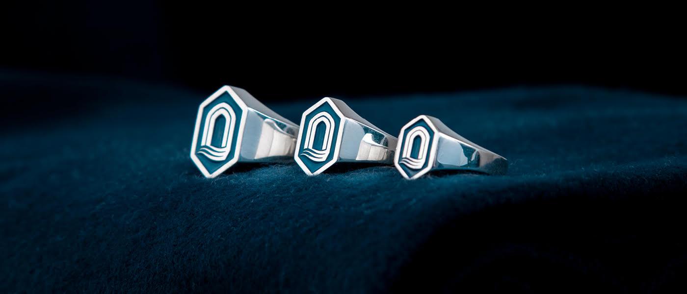 Three ring styles